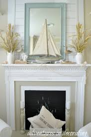 mantle decor best 25 summer mantle decor ideas on pinterest fireplace mantel