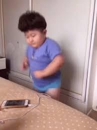 Dancing African Baby Meme - fat asian kid gifs tenor