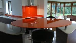 Glass Breakfast Bar Table Glass Breakfast Bars