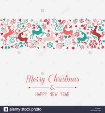 merry christmas and happy new year banner greeting card background