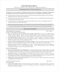 Technical Manager Resume Samples by 7 Operations Manager Resume Free Sample Example Format Free