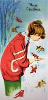 109 best old fashioned christmas cards birds images on