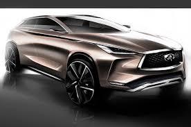 infinity infiniti qx50 concept stuns in detroit motor trend