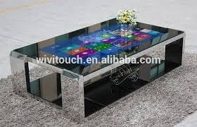 touch screen coffee table interactive tea game bar coffee all in one touch table with touch