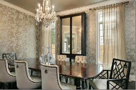 wallpaper ideas for dining room christainmiami oxford development glam dining room