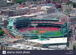 Fenway Map Aerial View Fenway Park Stock Photos U0026 Aerial View Fenway Park