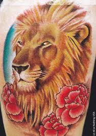 35 best lion and flower tattoo designs images on pinterest