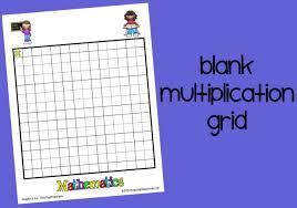 blank grid worksheet blank multiplication grid printable worksheet with answer key