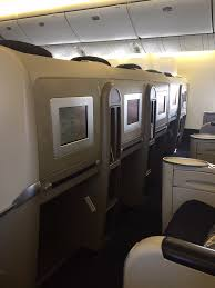 Air France Comfort Seats Review Air France Business Class 777 Paris To New York Jfk One