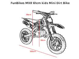 motocross bike for kids funbikes mxr 50cc 61cm green kids mini dirt bike model fbk 1153