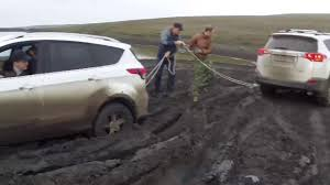 off road test drive ford kuga vs toyota rav4 vs skoda yeti vs l200