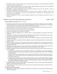 sharepoint resume sharepoint developer resume pdf business objects sle inssite
