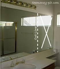 Mirror Trim For Bathroom Mirrors Bathroom Mirror Trim Pieces Bathroom Mirrors Ideas
