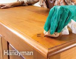 How To Get Wax Off Wood Table Wood Finishing Tips How To Renew A Finish Family Handyman