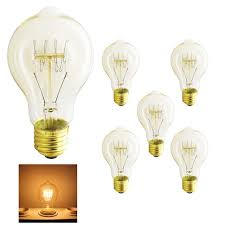 outdoor incandescent light bulbs 5xa19 light bulb vintage retro edison l e27 incandescent bulb