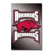 Arkansas Razorback Home Decor by University Of Arkansas Razorbacks Wall Poster
