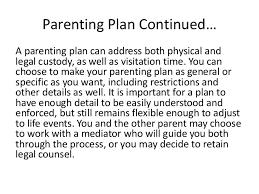 child custody information in california