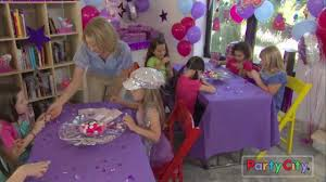 glitzy birthday party ideas youtube