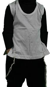 talit katan talit katan 100 cotton t shirt vest with tzitzit of