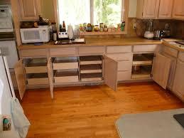 Kitchen Cabinet And Drawer Organizers - kitchen metal drawer organizer brown wood base cabinet white