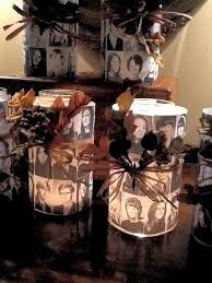 centerpieces for class reunions class reunion ideas create candles with photos of the departed