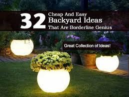 Cheap Backyard Landscaping Ideas Cheap And Easy Backyard Landscaping Ideas Large And Beautiful