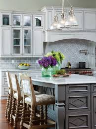 Nickel Island Light Haverhill Polished Nickel Island Light Transitional Kitchen