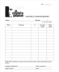 month end report template end of month report template monthly report 10 documents