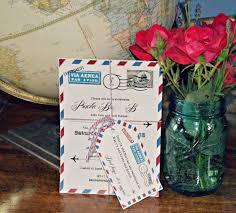 Travel Themed Wedding Travel Themed Wedding Shower Margusriga Baby Party Planning