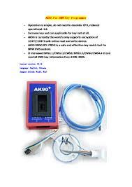 ak90 key programmer for bmw