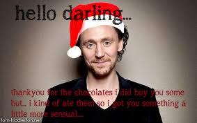 Tom Hiddleston Memes - tom hiddleston hello darling christmas by channyxdxd on deviantart