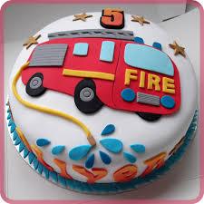 firetruck cakes engine birthday cake cakepins cakes