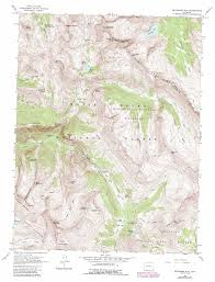 Colorado Mountains Map by Snowmass Mountain Topographic Map Co Usgs Topo Quad 39107a1