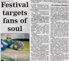 csoul festival newspaper articles
