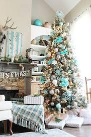 mesmerizing blue tree decoration ideas celebration