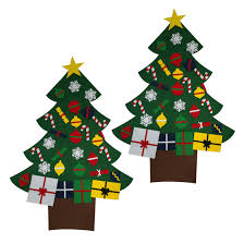 online get cheap wall hanging felt christmas tree aliexpress com