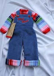 chucky sweater corduroy overall and sweater chucky doll guys corduroy