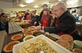 workers volunteers kept busy on thanksgiving news the times