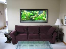 modern wall decoration with aquarium for luxury houses