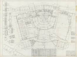 Las Vegas Casino Floor Plans Unlv Libraries Digital Collections Architectural Drawing Of The
