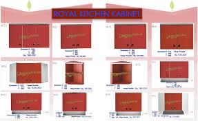 Daftar Harga Kitchen Set Minimalis Murah Kitchen Set Royal Berita Harga Royal Kitchen Set Royal Sink