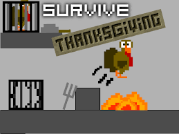survive thanksgiving platformer on scratch