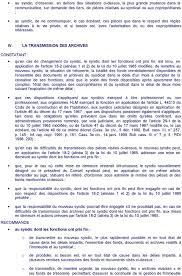 chambre syndicale des syndics de copropriété recommandation n 20 concernant les archives du syndicat des
