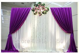 wedding backdrop curtains aliexpress buy wholesale free shipping new wedding backdrop