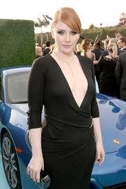 bryce dallas howard bought the black balmain dress she wore to
