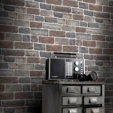 rasch urban stone brick wallpaper in natural 217339
