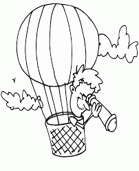 free balloon coloring pages coloring