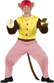 inappropriate halloween costumes clapping cymbal toy monkey