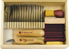 Wood Carving Starter Kit by Flexcut Craft Wood Carving Hand Tools Ebay