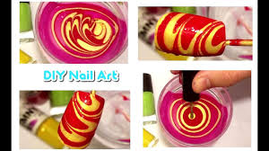 water marble nail art tutorial water nail designs tutorials